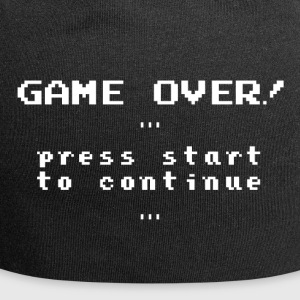 Retro 'Game over!' - Jersey Beanie