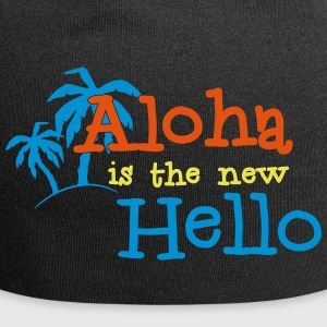 Aloha is the new Hello 3c - Jersey Beanie