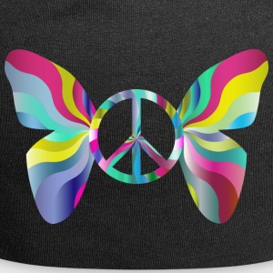 Butterfly and peace - Jersey Beanie