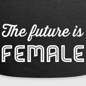 The future is female white - Jersey Beanie