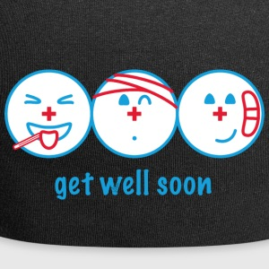 Get Well Soon - Beanie in jersey