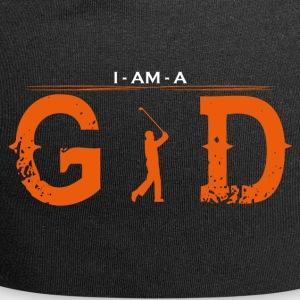 I AM GOD legend golf sports golfer caddi - Jersey-Beanie