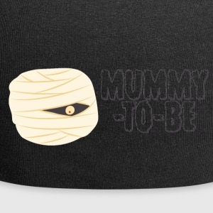 Halloween: Mummy-To-Be - Jersey Beanie