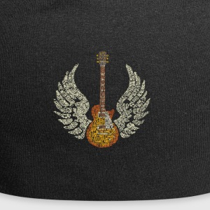 Guitar with Wings - Jersey Beanie
