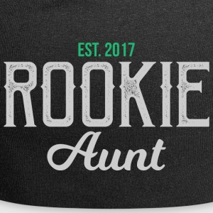 Nieuwe Tante Rookie tante gift - tante - Jersey-Beanie