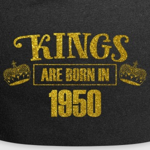 Kings are born in 1950 - Birthday Koenigsgold - Jersey Beanie