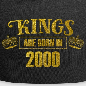 Kings are born in 2000 - Birthday Koenig Gold - Jersey Beanie