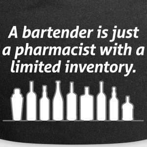 Bartenders Are Pharmacists With A Limited Inventor - Jersey Beanie