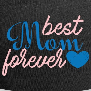 Muttertag: Best Mom Forever - Jersey-Beanie