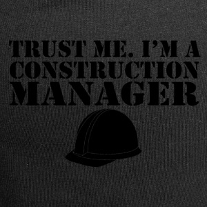 trust me im a construction manager - Jersey-Beanie