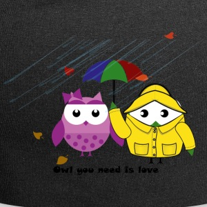 Owl you need is love Herbstedition - Jersey Beanie