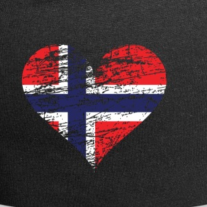 A heart for Norway - Jersey Beanie