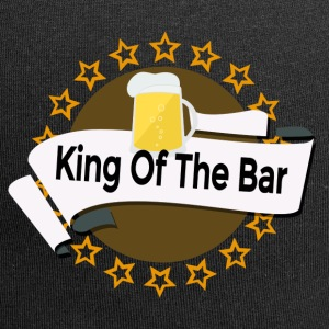 King of the Bar - Czapka krasnal z dżerseju