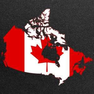 Map of Canada - Jersey Beanie