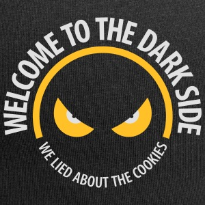 Welcome To The Dark Side,We Lied About The Cookies - Jersey Beanie