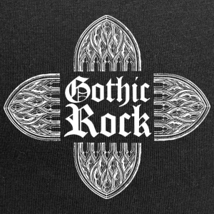 GOTHIC ROCK MUSIC (bianco) - Beanie in jersey