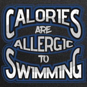 Calories are allergic to swimming 2 - Jersey Beanie