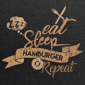 EET SLAAP HAMBURGER REPEAT - Jersey-Beanie