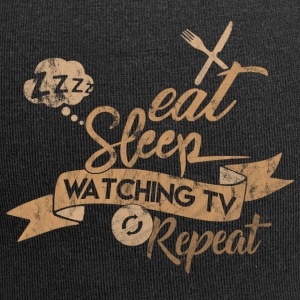 Eat Sleep WATCHING TV TOISTA - Jersey-pipo
