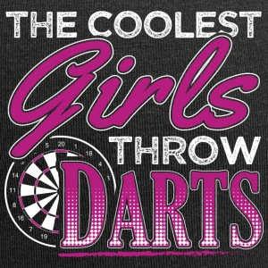 THE COOLEST GIRLS THROW DARTS - Jersey Beanie