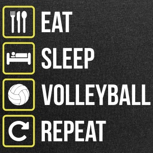 Eat Sleep Volleyball Repeat - Jersey Beanie