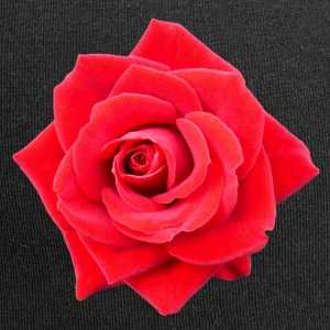 Rose rouge 1 - Bonnet en jersey