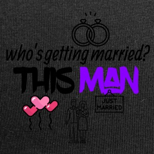 This man is getting married - Jersey Beanie