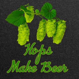 Vector Hops make Beer - Jersey Beanie