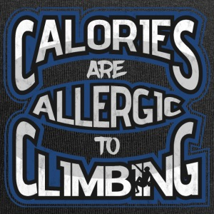 Calories are allergic to climbing - Jersey Beanie