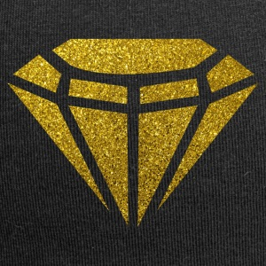 Golden Diamond - Golden Diamond Glitter Gold - Jersey-Beanie