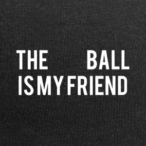 The Ball is my friend - Jersey Beanie