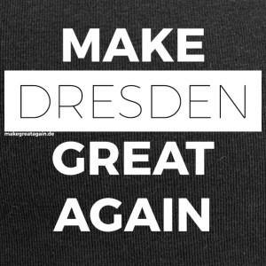 MAKE GREAT AGAIN DRESDEN white - Jersey Beanie