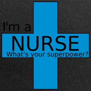 Nurse Superpower - Jersey Beanie