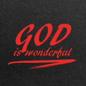 God_is_wonderful - Jersey Beanie