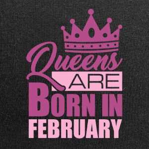 QUEENS ARE BORN IN FEBRUARY - Jersey Beanie