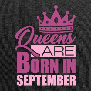 Queens are born in September - Jersey Beanie