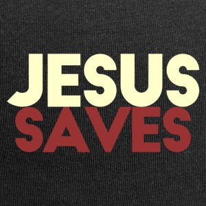 Jesus Saves - Beanie in jersey