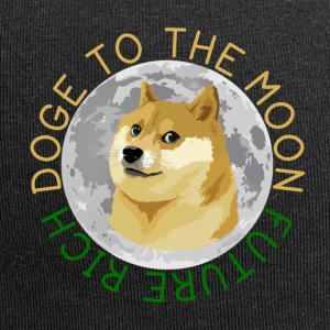 DOGE TO THE MOON - Jersey Beanie