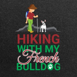 HIKING FRENCH BULLDOG - Jersey Beanie
