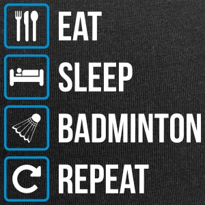 Eat Sleep Badminton Gentag - Jersey-Beanie