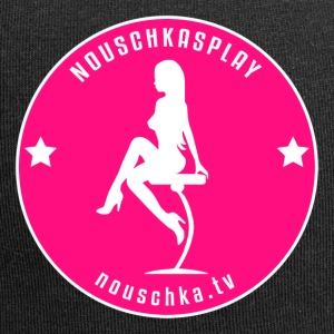Nouschkasplay Badge pink_white 2017 - Jerseymössa
