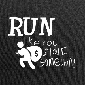 Run! I want to steal something for you - criminally - Jersey Beanie