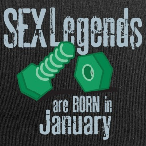 Compleanno: Gennaio del pene Sesso Legends - Beanie in jersey