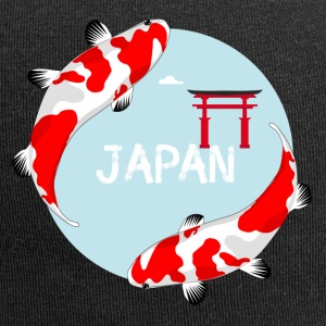 poissons carpe koi poissons rouges Japon Asie Manga l rouge - Bonnet en jersey