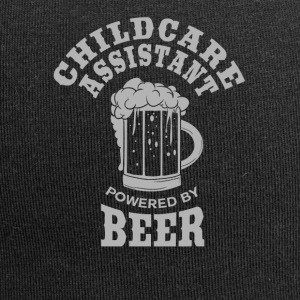 CHILDCARE ASSISTANT powered by BEER - Jersey Beanie