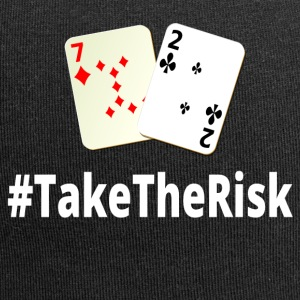 Take The Risk 72o Poker - Jersey-Beanie