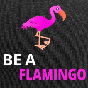 Be A Flamingo - Jersey Beanie
