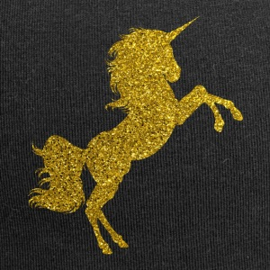 Golden Unicorn - Golden Unicorn Gold Glitter - Jersey-pipo
