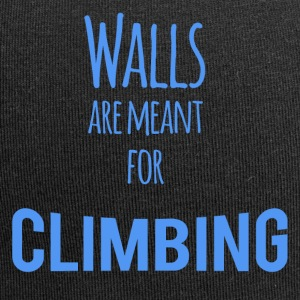 Walls are Meant for Climbing - Jersey-Beanie