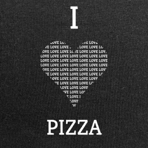 I LOVE PIZZA - Jersey-Beanie